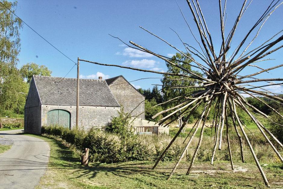 Escapade sur les bucoliques Sentiers d'Art, en Condroz-Famenne (en images)