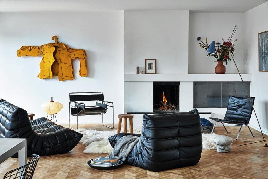 Thuis bij de kunstkenners Micha en Albane: 'Wat we kopen is zelden discreet of subtiel'