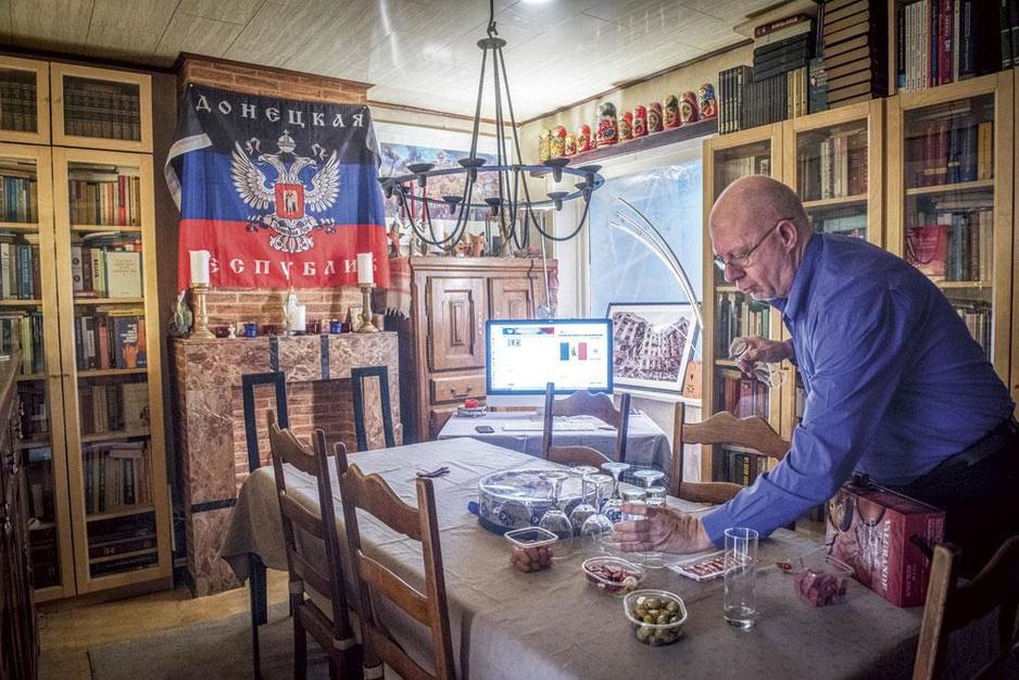 Hoe de Volksrepubliek Donetsk een vertegenwoordigingscentrum in België kreeg