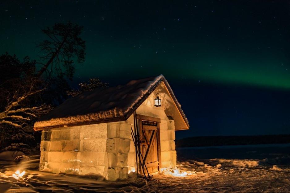 Negenmaal uniek overnachten in winters Finland