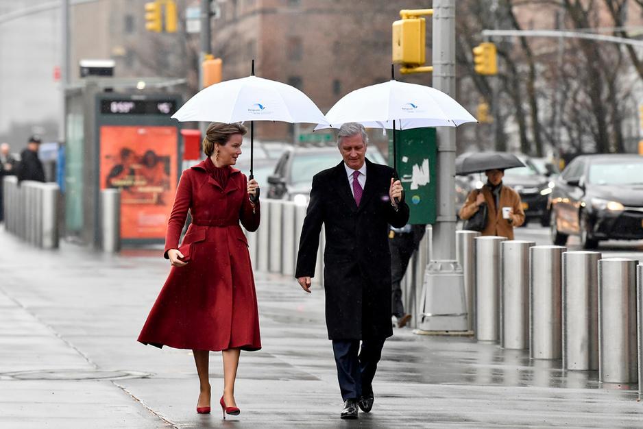 Le roi Philippe et la reine Mathilde à New York (en images)