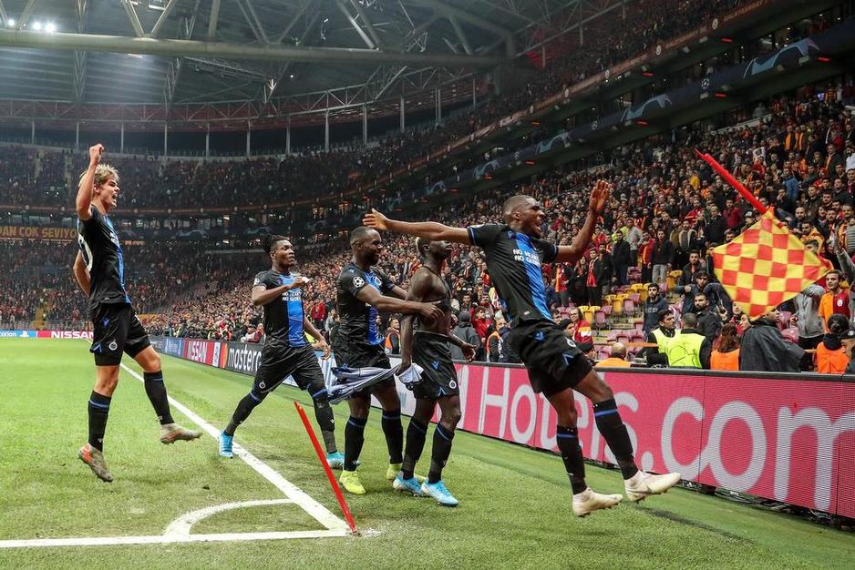 Club Brugge bezit duidelijk nog niet de cool van Ajax
