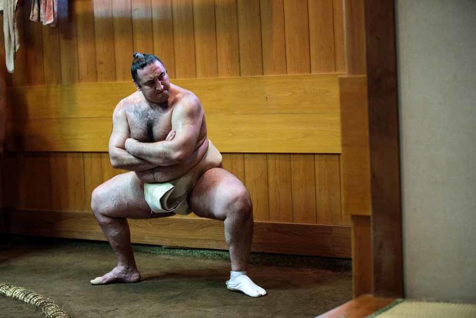 Il n'y a pas que des sumos japonais