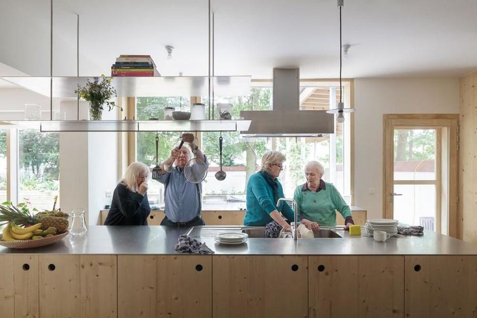 Dementerende personen vinden een thuis in De Villa: 'Ik kan en mag hier nog alles doen'