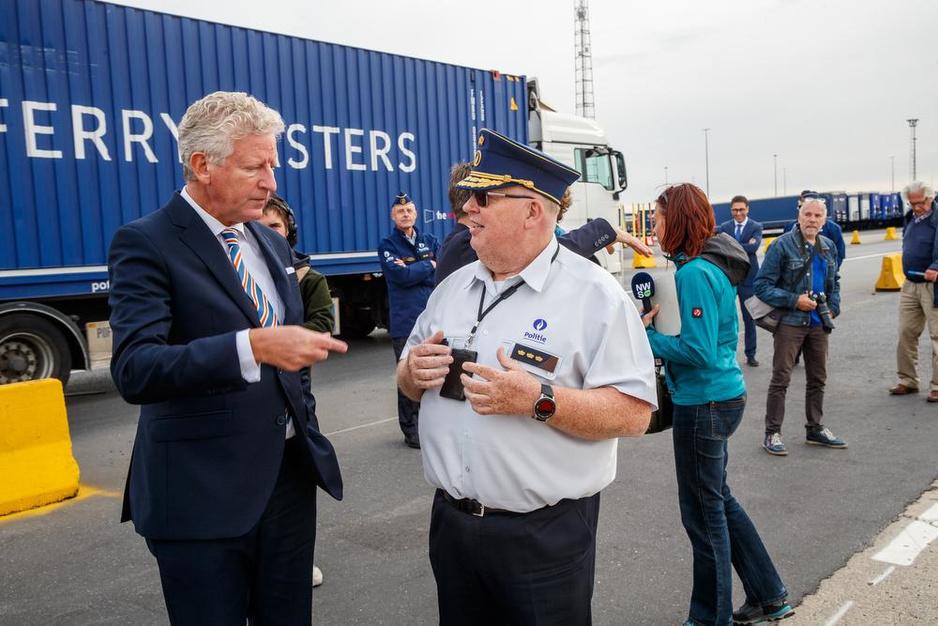 """Actie tegen mensensmokkel in haven Zeebrugge: """"Minder transmigranten"""""""