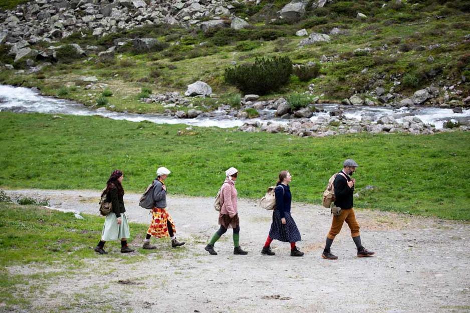 Randonnée théâtrale: sur les traces de l'exode des Juifs en Autriche (en images)
