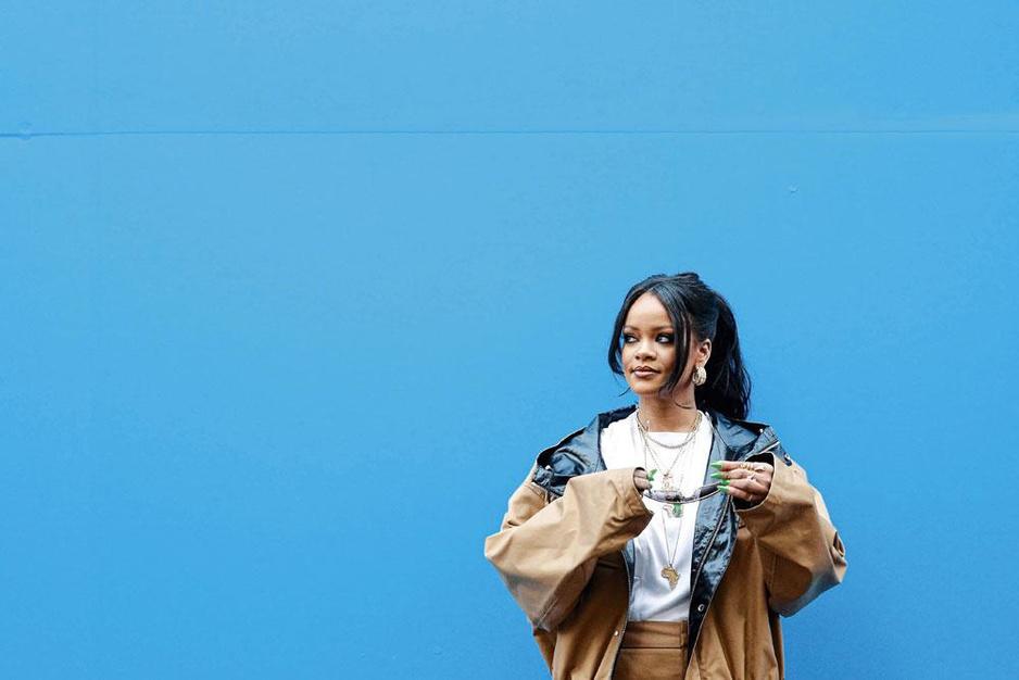 Zorgt Rihanna met haar eigen modelabel voor een nieuwe wind?