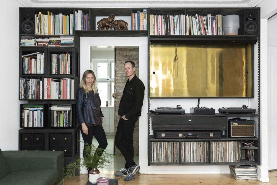 Visite d'une maison pop-up à Copenhague, un habitat ludique et lumineux