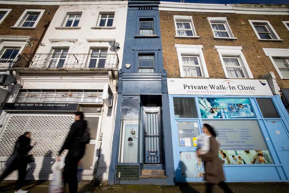 En images: La plus étroite maison de Londres est à vendre (pour plus d'un million d'euros)
