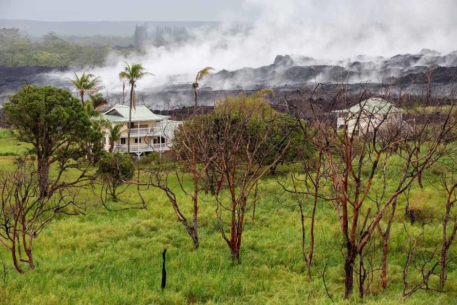 En images: à Hawaï, près d'un an après l'éruption du volcan Kilauea