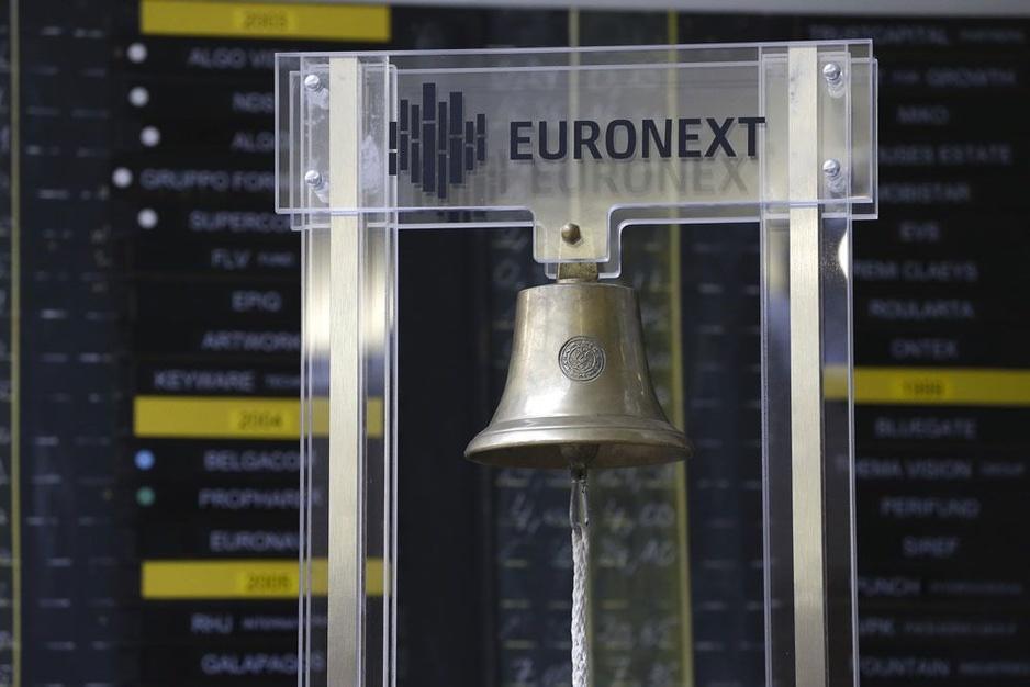 Beursbedrijven in Brussel zijn kleiner en minder internationaal dan in Amsterdam