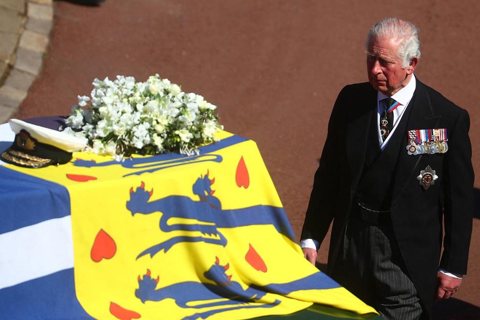 Les adieux de la famille royale britannique au prince Philip (en images)