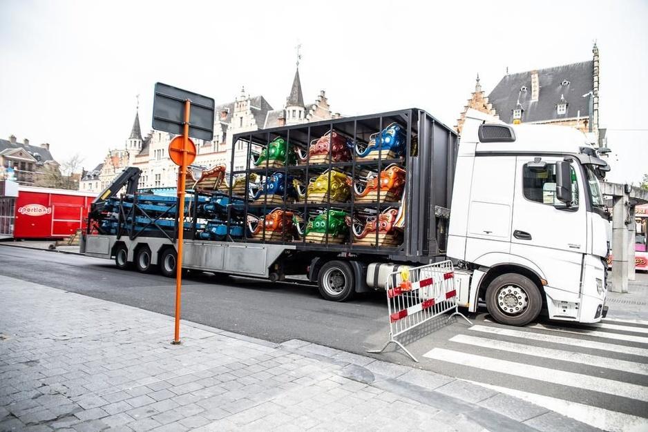 Paasfoor palmt Kortrijk in