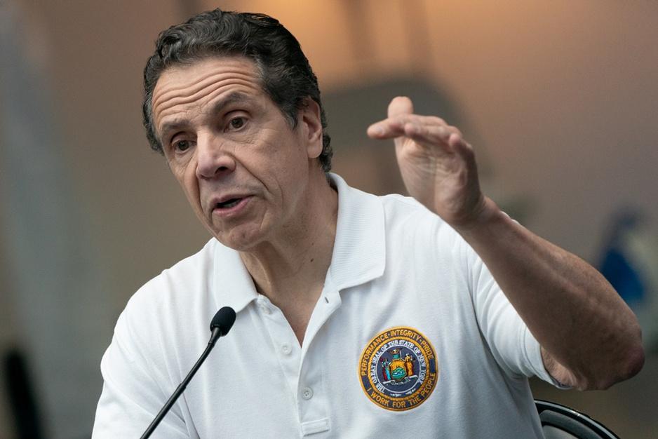 New Yorks gouverneur Andrew Cuomo: Democratische hoop in bange tijden