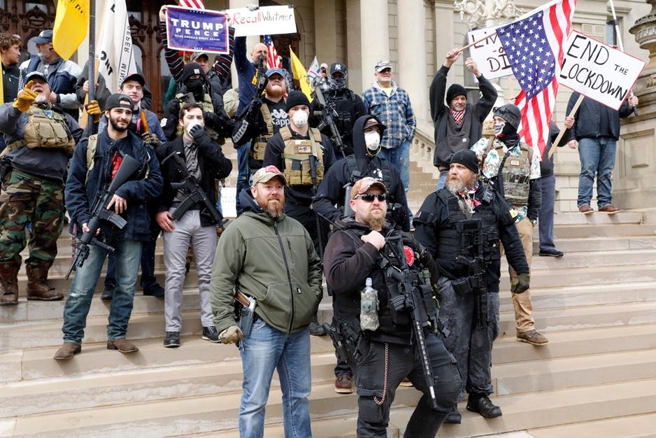 De drie broers en een studentenleider achter de Amerikaanse protesten tegen lockdown