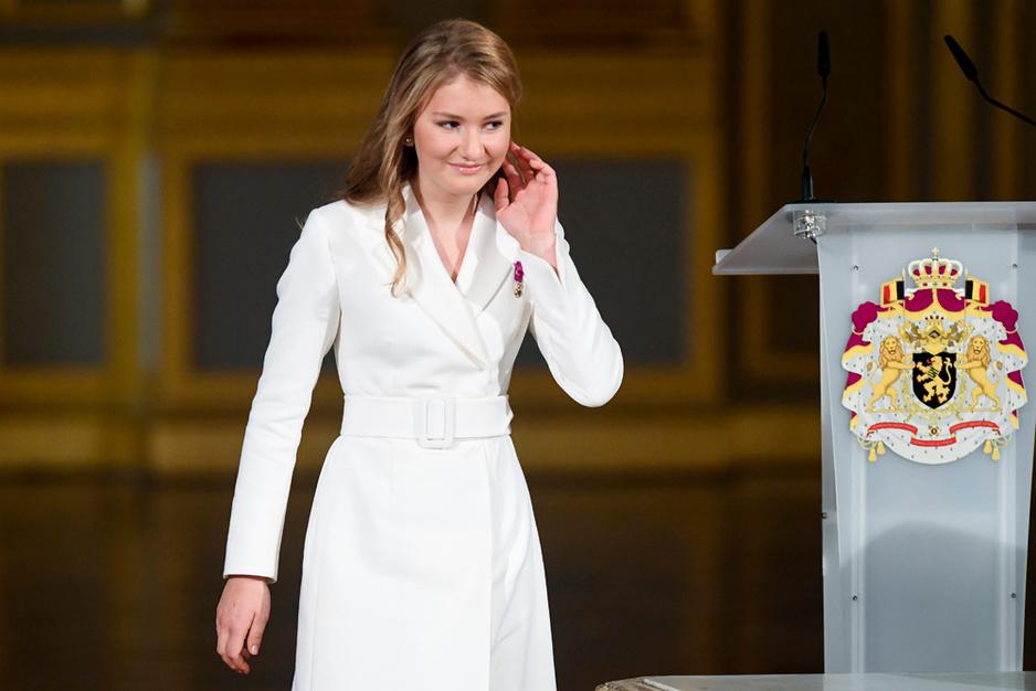 Les dix-huit ans de la princesse Élisabeth (en images)