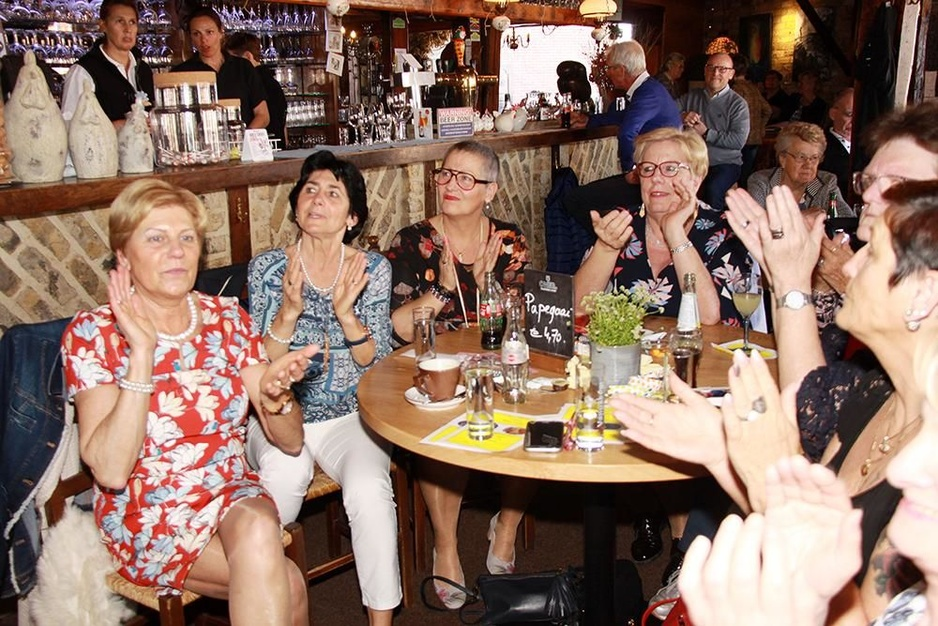 IN BEELD - Feest met Vlaams talent in De Kippe in Merkem