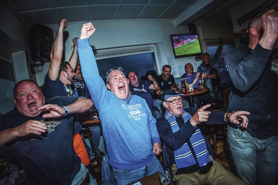 Rondvraag in hartje Brugge: 'Voetbal leeft hier één keer per jaar, als Club kampioen speelt'