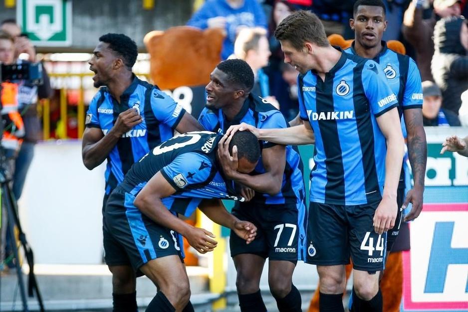 IN BEELD - Club Brugge breekt titelstrijd weer open na 3-2-zege tegen RC Genk