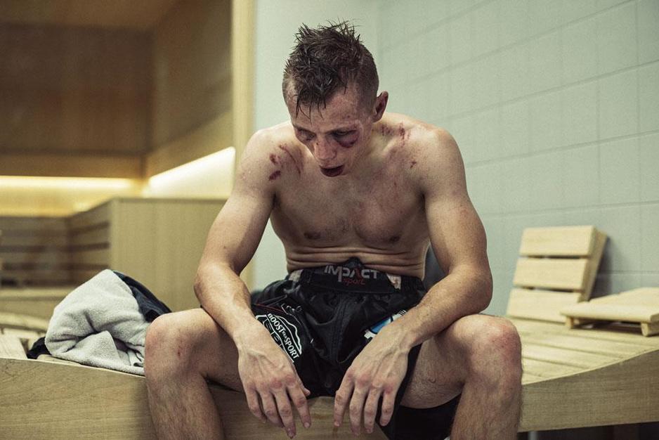 Portret van Junior Bauwens door Knack-fotograaf Jef Boes bekroond door Nikon Press Photo Awards