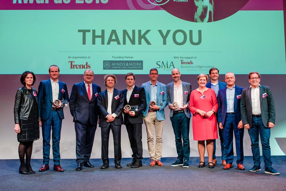 In beeld: Trends Sales & Marketing Awards 2019