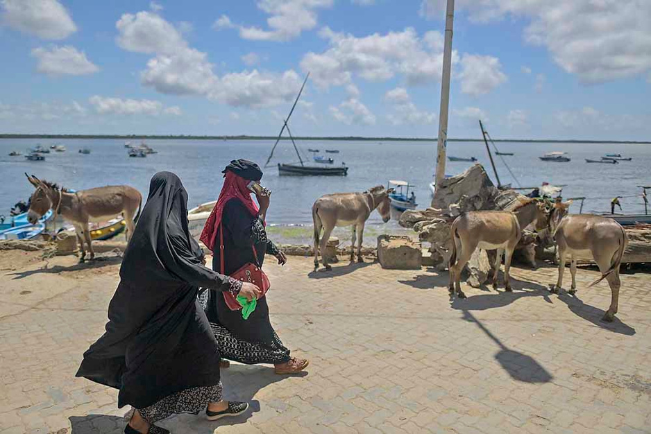 Océan indien: Lamu, une île en pleine crise existentielle (en images)
