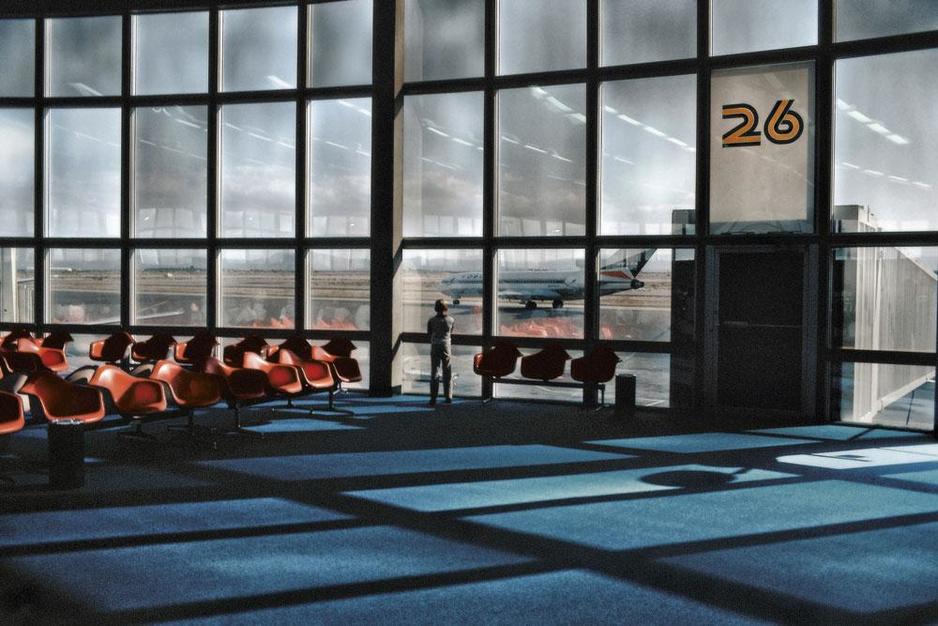 Les aéroports sous l'objectif d'Harry Gruyaert