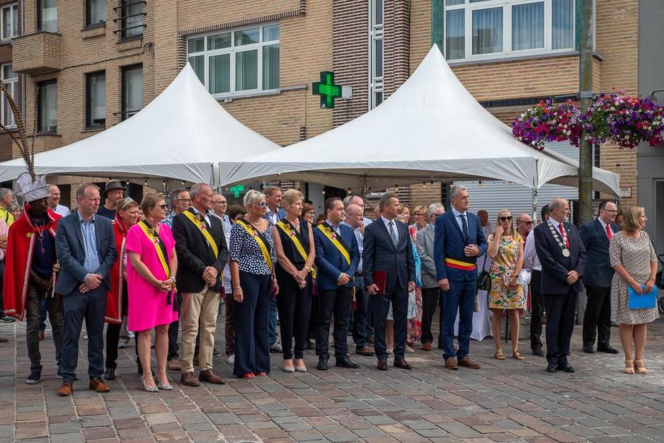 IN BEELD - Tieltenaren gaan weekend los op Europafeesten