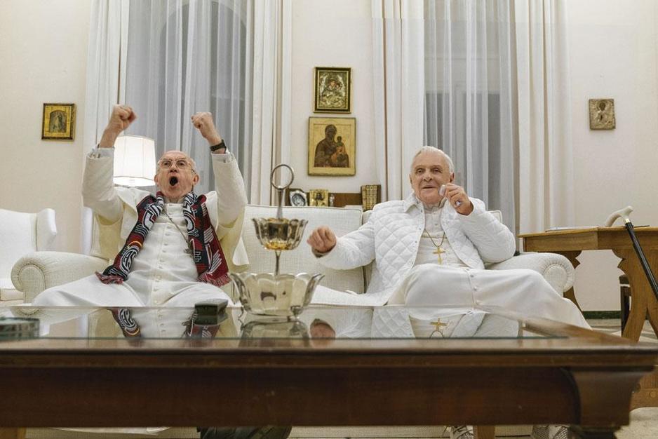 'The Two Popes' op Netflix: 'Mijn Benedictus is veel beter dan de echte'