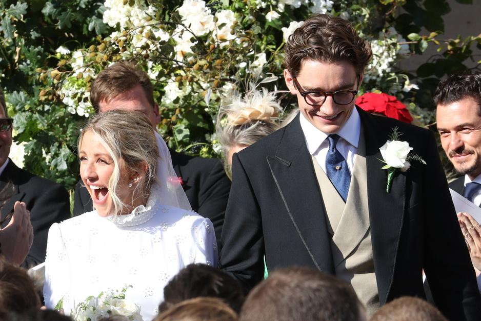 Que du beau monde au mariage somptueux d'Ellie Goulding (en images)