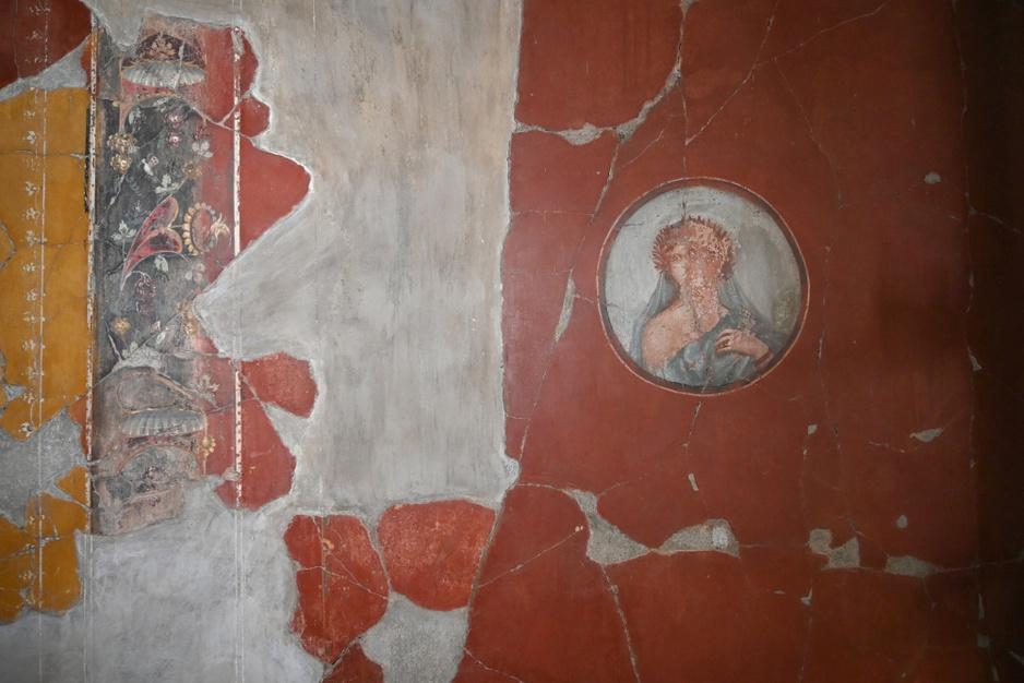 Huis met prachtige antieke muurschilderingen in Herculaneum geopend voor het publiek