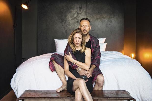 Tussen de lakens bij Stéphanie en Christophe: 'We haken als tandwielen in elkaar'