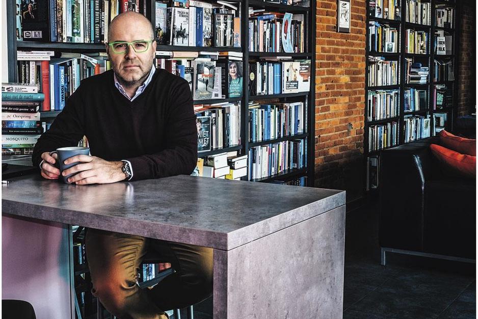 Karl Drabbe, uitgever van Doorbraak: 'Weitermachen. Voortdoen. Dat is mijn motto'