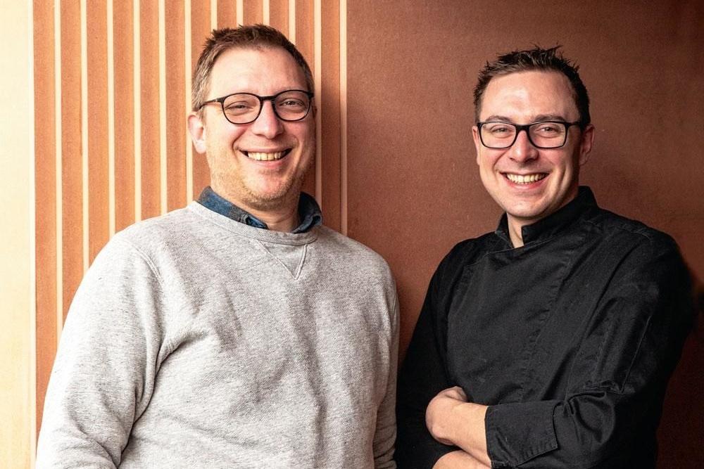 Pierre Val et Pierre Schreuders du Restaurant Tandem , Diane Hendrikx