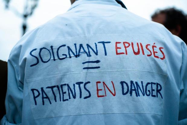Grève de blouses blanches de la CSC ce 12 novembre en province de Liège