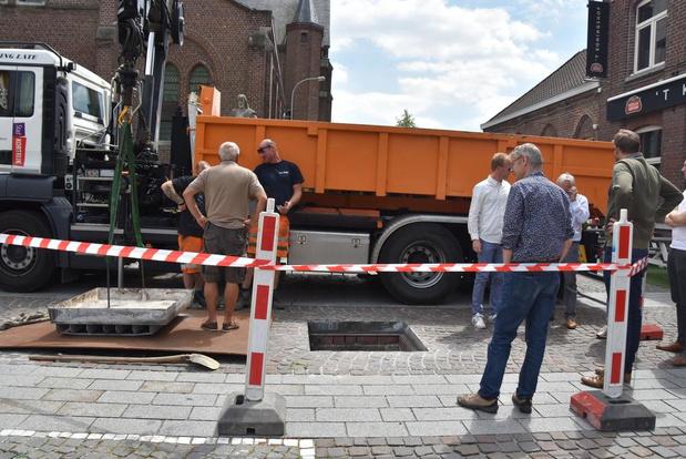 Schuilkelder in Bissegem eventjes opengelegd