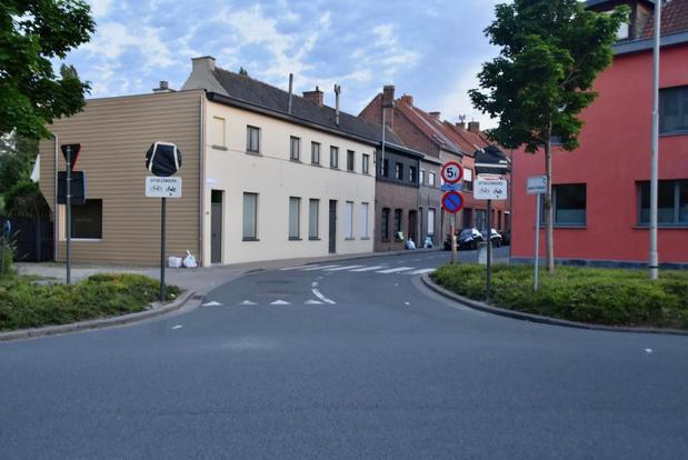 Vanaf 1 juli is er eenrichtingsverkeer in de Marktstraat in Marke