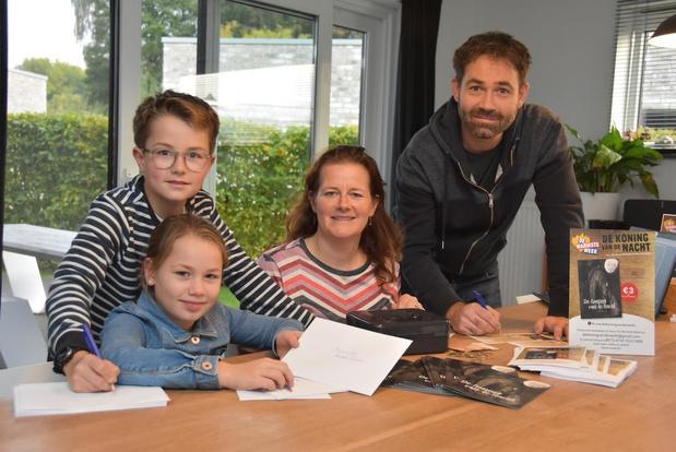 Vader en dochter schrijven kortverhaal voor goede doel