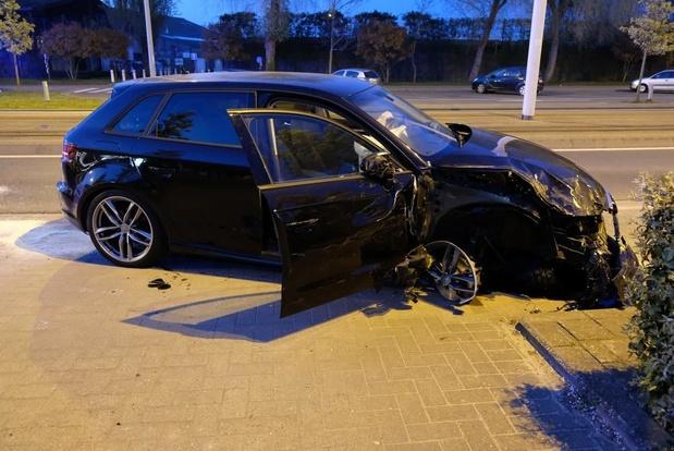 Twee wagens zwaar beschadigd bij verkeersongeval in Nieuwpoort
