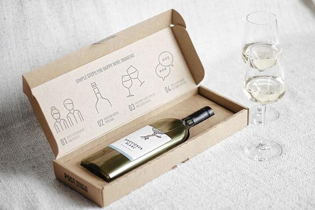 Nu ook platte plastics Bourgogne-fles