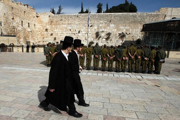 Israël: foute cijfers over ultraorthodoxe soldaten maken coalitievorming nog moeilijker