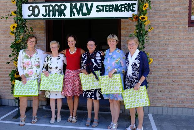 KVLV Steenkerke viert 90-jarig bestaan