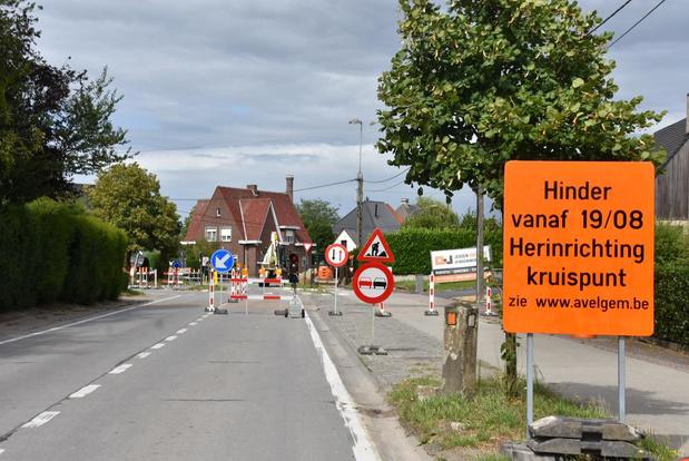 Rotonde aan de Colruyt maakt plaats voor verkeerslichten