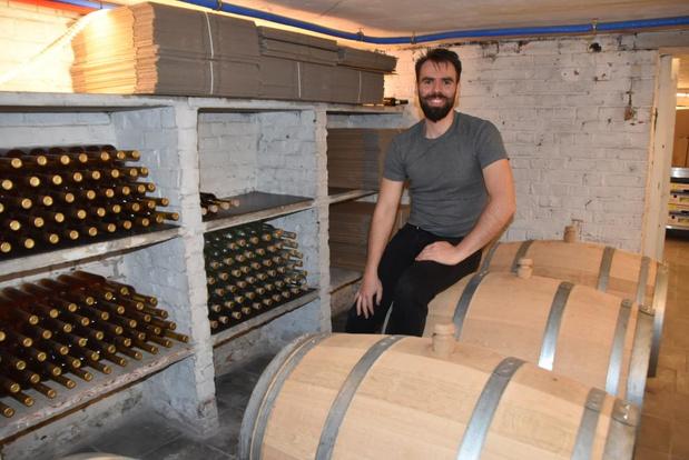 Gaël tovert met Belgische appels in zijn eigen stokerij