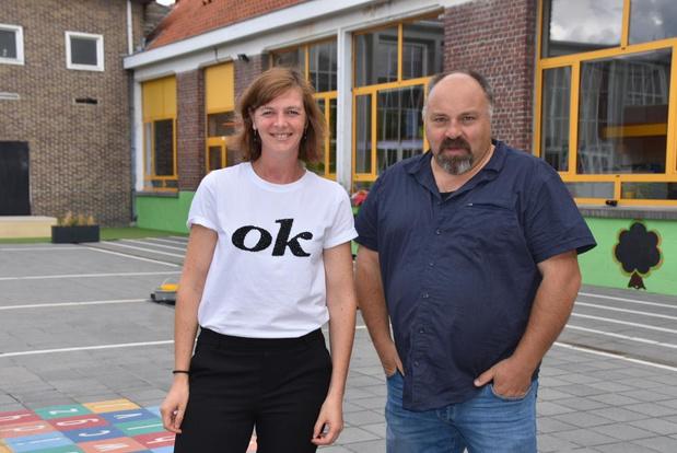 Nieuwe basisschool 't Hoge van start, Barbara Buysschaert wordt directeur