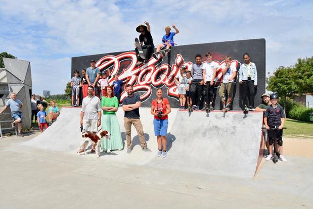 Kooigems skatepark nu ook officieel geopend