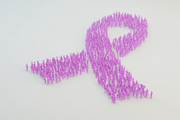 Think Pink deelt op 10 oktober 100.000 pralines in de vorm van een borst