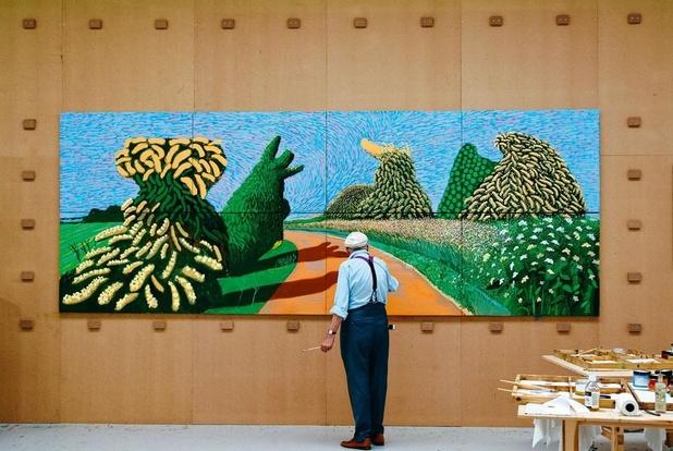 Hockney kijkt naar Van Gogh