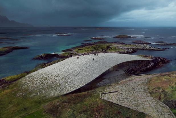 Noorwegen krijgt er een spectaculaire arctische attractie bij
