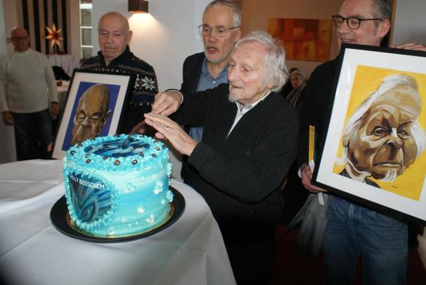 Onze huiscartoonist Willy Bosschem (90) opent expo in Oostende